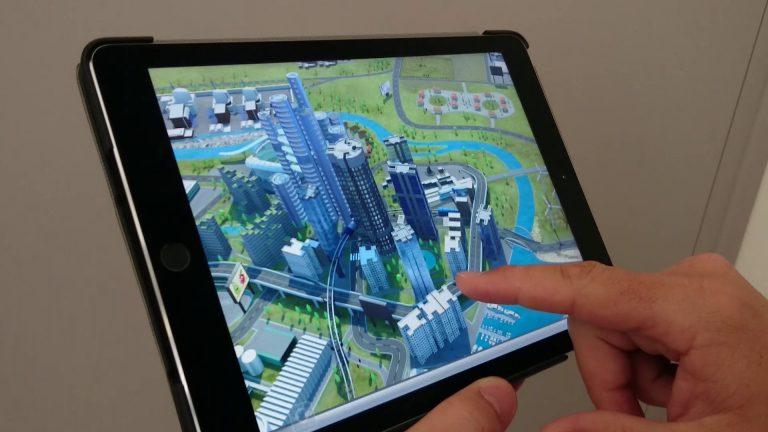 application 3d temps réel Propulsion Tour